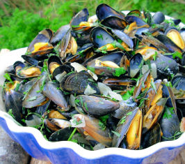 Ahoy There!  Moules Marinières - French Sailor's Mussels. Photo by French Tart