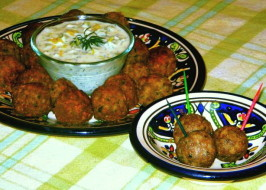 My Big Fat Greek Meatballs. Photo by The Spice Guru