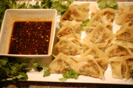 Best Vegetarian Pot Stickers. Photo by msmia