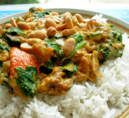 Spinach and Pumpkin Curry. Photo by French Tart