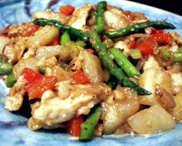 Chicken Stir-Fried With Bosc Pears. Photo by FLKeysJen