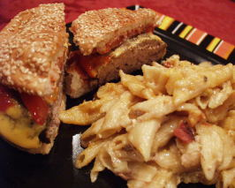 Craze-E Crock-Pot Burgers & Cheesy Pasta. Photo by FLKeysJen