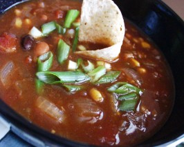 Crock Pot Beef, Bean & Bacon Soup. Photo by FLKeysJen