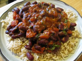 Punjabi Rajma (Kidney Beans). Photo by zaar junkie