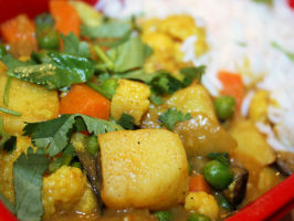 Madras Vegetable Curry (Vegetarian). Photo by **Jubes**
