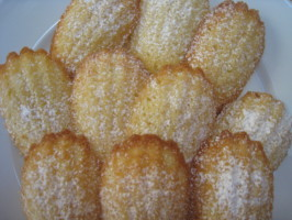 French Tart's Classic Madeleines: Madelines: Little Fluted Cakes. Photo by mhairstudio_11861360