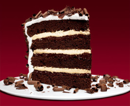 Devils Food 4 Layer Cake With Peppermint Frosting. Photo by Flavor VIsion