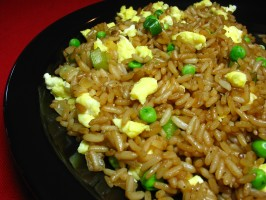 Kittencal's Best Chinese Fried Rice With Egg. Photo by Breezytoo