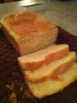 Mom's Delicious Homemade Bread. Photo by foodieray03