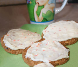 Simply Scrumptious Carrot Cake Cookies. Photo by **Tinkerbell**