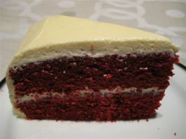 Red Velvet Cake. Photo by Chickee