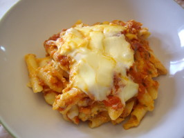 Baked Ziti from Cook's Illustrated. Photo by Sage