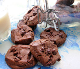 Menage a Trois (The Chocolate Chocolate Chocolate Cookie). Photo by French Tart