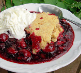 Summer Memories: Jumbleberry Crumble With Shortbread Topping. Photo by French Tart