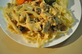 Chicken Stroganoff for Beginners. Photo by I'mPat