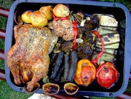 All-In-One Roast Chicken Dinner. Photo by Zurie