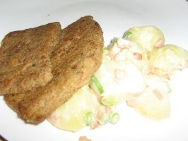 Wiener Schnitzel With a Proper Potato Salad. Photo by I'mPat