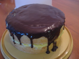 Boston Cream (Creme) Pie. Photo by Scarlett516