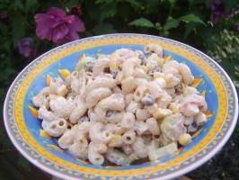 Corn and Black Bean Macaroni Salad - Tex Mex. Photo by LifeIsGood