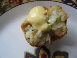 Potato Croquetas With Saffron Aioli (Spain). Photo by threeovens