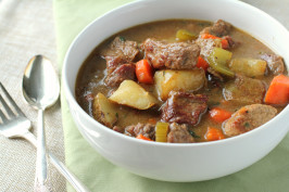 The Best Browned Beef Stew Ever. Photo by Delicious as it Looks