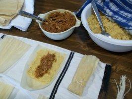 Good Eats Hot Tamales (Alton Brown 2009). Photo by 2Bleu