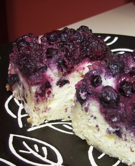 Lemon Blueberry Upside Down Cake. Photo by Baby Kato