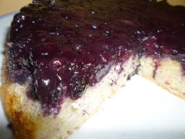 Lemon Blueberry Upside Down Cake. Photo by Mrs Goodall