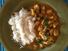 Curry Chicken with Coconut and Peanuts. Photo by BakingGuru