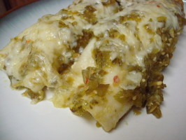 Enchiladas Verdes. Photo by Pismo