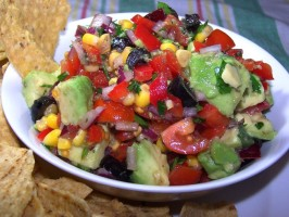 Fit for a Queen Avocado Salsa!. Photo by **Jubes**