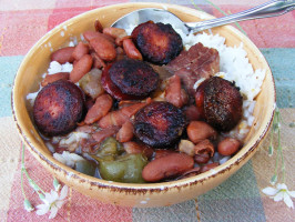 Crescent City Red Beans & Rice (Crock-Pot). Photo by Lavender Lynn