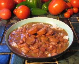 Crescent City Red Beans & Rice (Crock-Pot). Photo by breezermom