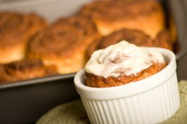 Cinnabon-Ish Cinnamon Rolls (Gluten-Free). Photo by SimpleBaker