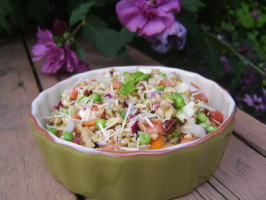 Farro Salad -  a Grain That so Deserves a Try!. Photo by LifeIsGood