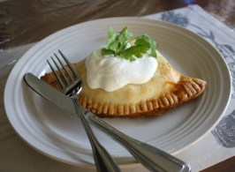 """Now and Later"" Vegetarian Empanadas. Photo by Everybody eats when they come to my house"
