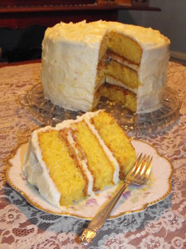 Orange Crunch Cake From The Bubble Room Recipe Food Com