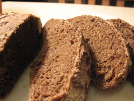 Pumpernickel Bread (No-Knead). Photo by Galley Wench