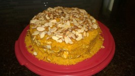 Copycat of Prantl's Burnt Almond Torte. Photo by earbullet