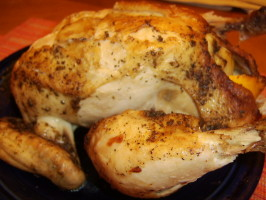 Sarasota's Roasted Whole Chicken With a White Wine Sauce. Photo by LifeIsGood