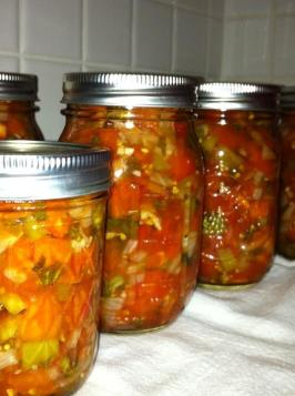 Tomato Salsa - Uncle Bill's Version. Photo by VenomousKate