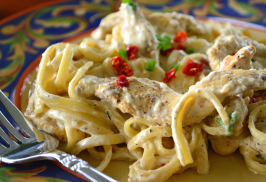 Creamy Cajun Chicken Pasta. Photo by Marg (CaymanDesigns)