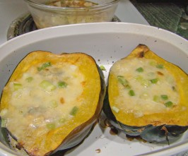 Roasted Corn Pudding In Acorn Squash Recipe - Food.com