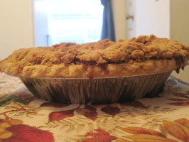 My Very Favorite Apple Crumb Pie. Photo by jamie 8371