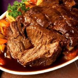 Perfect Pot Roast With Vegetables and Gravy. Photo by GREG IN SAN DIEGO