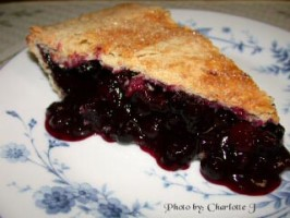 Blueberry Cranberry Pie. Photo by Charlotte J