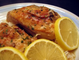 Katie Couric's Lemon Chicken. Photo by Dreamer in Ontario