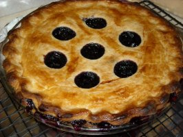 The Best Blueberry Pie. Photo by Pismo