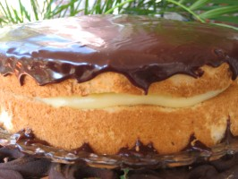 Boston Cream Pie. Photo by gailanng