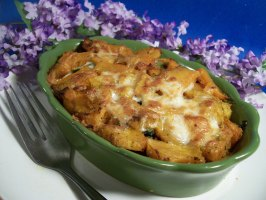 Creamy Butternut Squash and Spinach Gratin. Photo by Sharon123